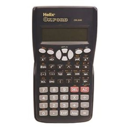 Calculatrice Scientifque Oxford Helix - (bleu)