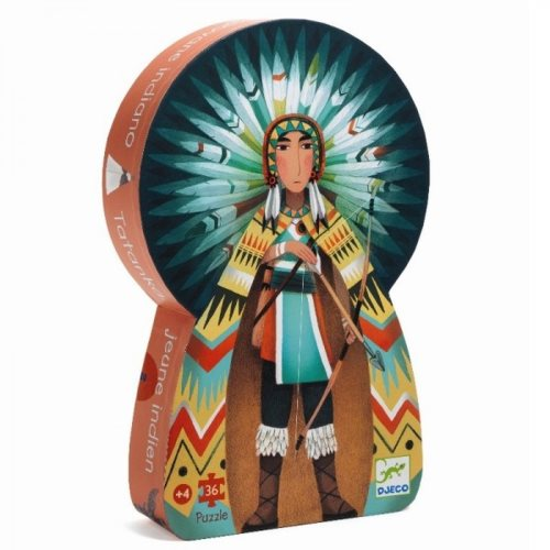 Puzzle tatanka young indian  36 pcs