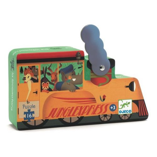 Puzzle La locomotive