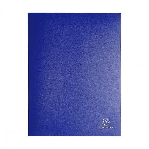 Porte vues soft eco a4 60 pochettes 120 vues bleu for Porte vue 60 pochettes