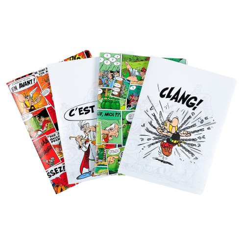 Asterix Polypro Display Book (Porte Vue) - 20 Pockets / 40 Viewable Sides - (varying graphic designs)
