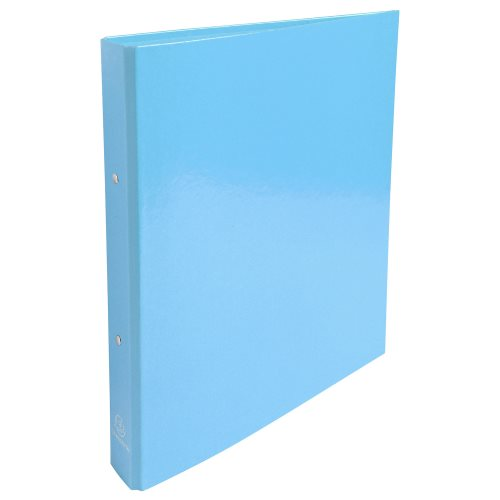 Rigid card A4 Maxi ringbinder 'Idearama' by Exacompta; 2 rings (Ø30mm), 40mm spine - (turquoise)