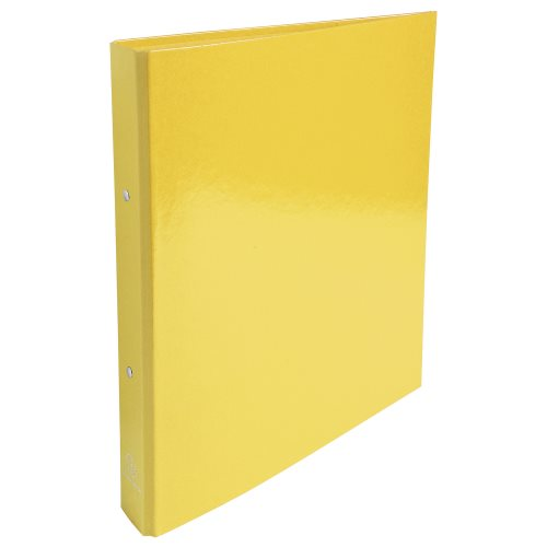 Rigid card A4 Maxi ringbinder 'Idearama' by Exacompta; 2 rings (Ø30mm), 40mm spine - (yellow)