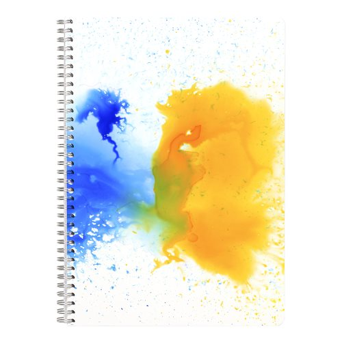Cahier Esquisse Collection Clairefontaine 'Aquarelle' A4 (21x29,7cm) 90g/m² papier - spirales - 320p (design aléatoire)