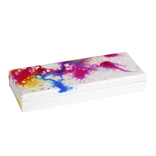 Boite Plumier Collection Clairefontaine 'Aquarelle' (21x5,5x8cm)