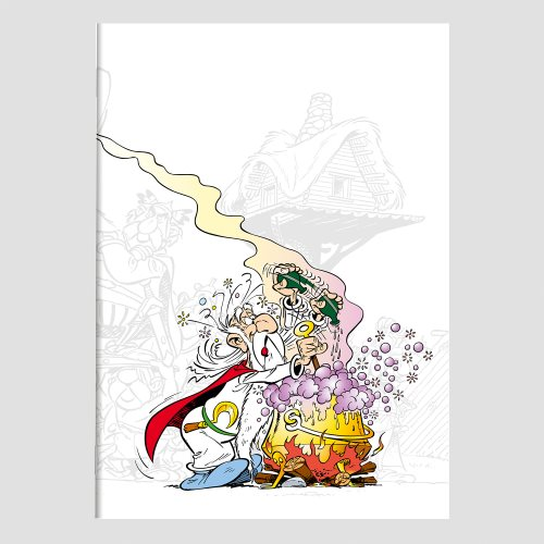 Asterix 'Magic Potion' Stapled A5 Notebook - line ruled 90g/m² paper, 96 pages - (varying covers designs)