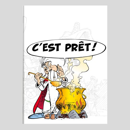 Asterix 'Magic Potion' Stapled A4 Notebook - French ruled (séyès) 90g/m² paper, 96 pages - (varying covers designs)