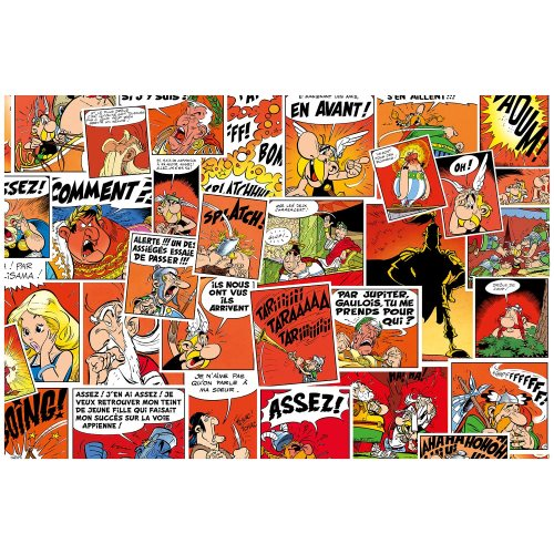 Asterix 'Comics' Desk Blotter / Sous-Main - 60x40cm (rouge)