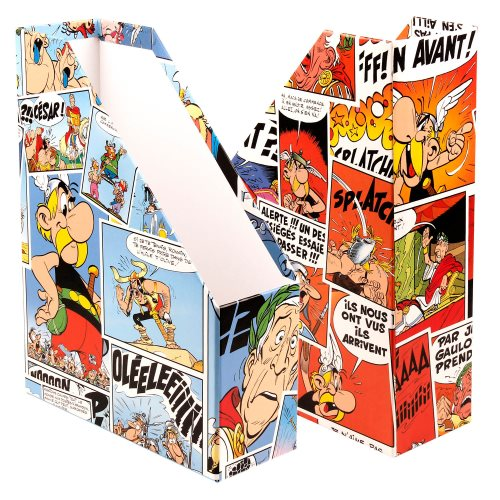 Asterix 'Comics' Magazine Holders / Porte Magazine - 9,4x24,8x32,5 - card construction (varying graphic design)