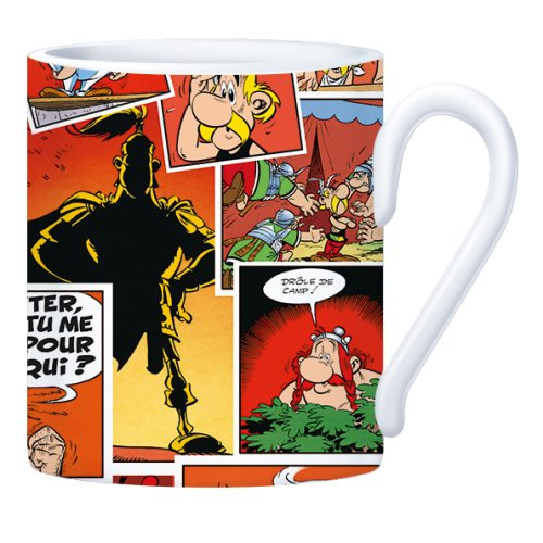 Asterix 'Comics' Coffee Mug - Ø8x9,5cm , presented in gift box - (varying designs)