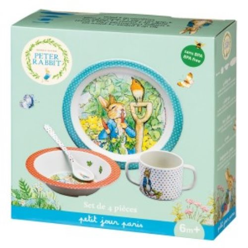 4-piece gift box Peter Rabbit