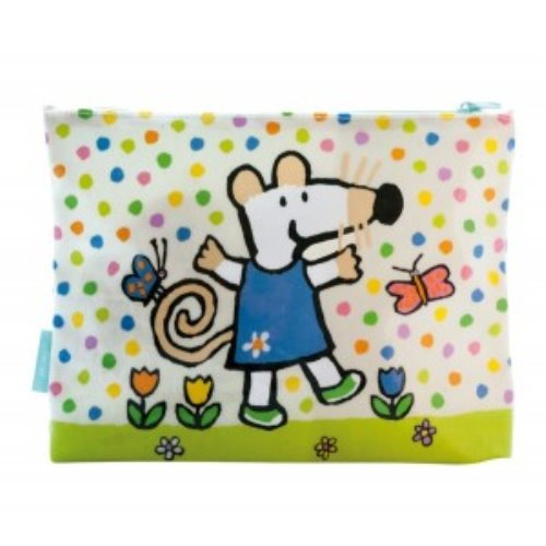 Large pouch maisy and butterflies