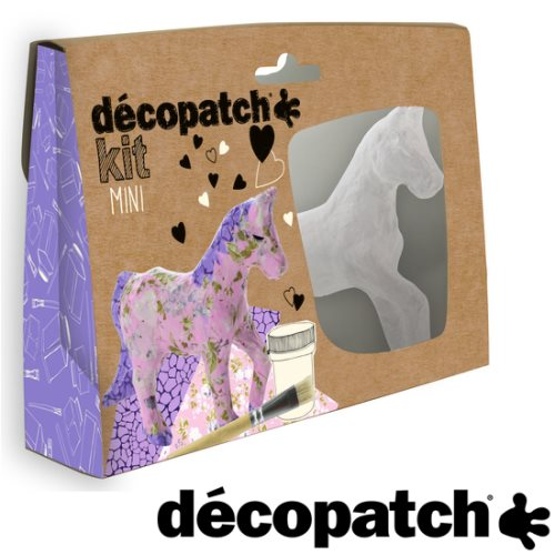 Mini kit Décopatch - cheval