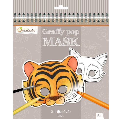 Graffy pop mask, animals
