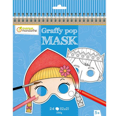 Graffy pop mask, grimm's fairy tales