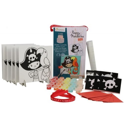 Happy Mandarine box : pirates à peindre