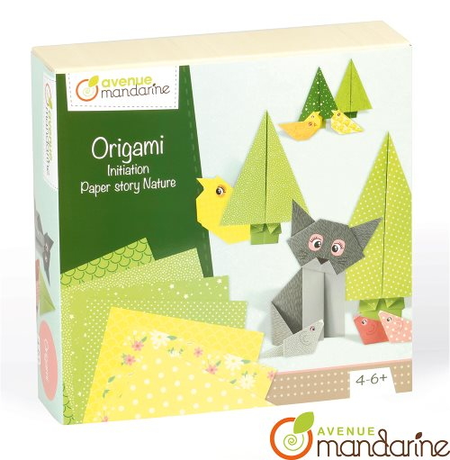 Coffret créatif Origami / Big creative box - Origami Initiation