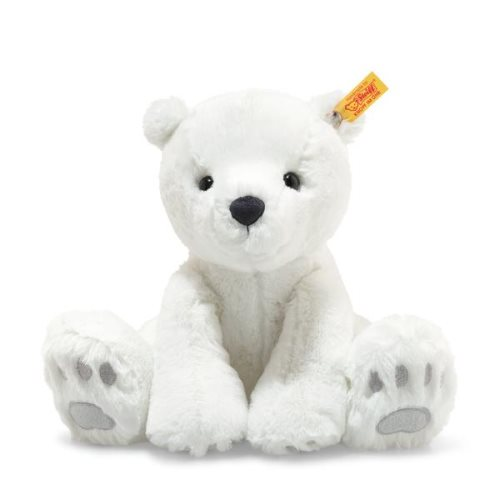 'lasse' polar bear 28cm - steiff soft cuddy friends