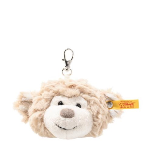 'bingo' monkey pendant keyring - steiff soft cuddy friends