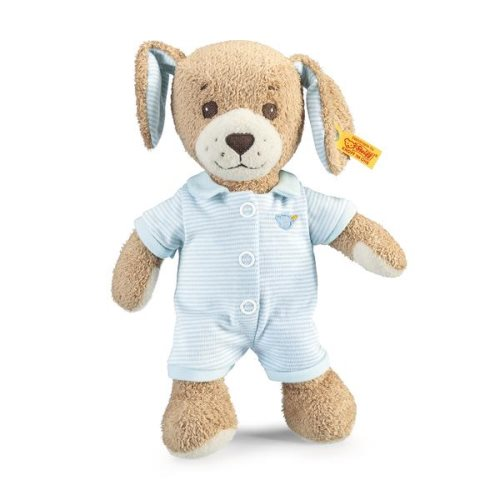'goodnight dog' blue 18cm - steiff soft cuddy friends