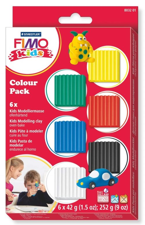 Fimo kids color pack - primary selection