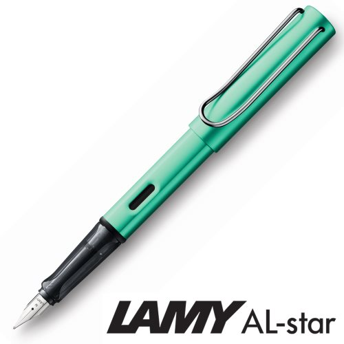Stylo plume Lamy Al-Star blue-green - Medium