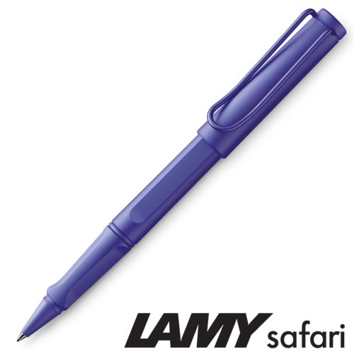 Lamy 'Safari' Rollerball Pen - 'Candy' Violet (321) - black ink (M63 Refill)