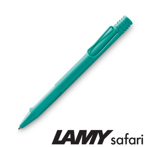 Lamy 'Safari' Ballpoint Pen - 'Candy' Aquamarine (221) - black ink (M16 Refill)