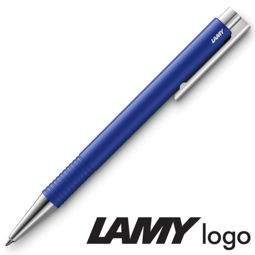 Lamy 'Logo M+' Ballpoint Pen (204) - Special Edition '20 Matt 'SkyBlue' - black ink (M16 Refill)