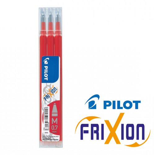 Recharge pour stylo Frixion ball (rouge)