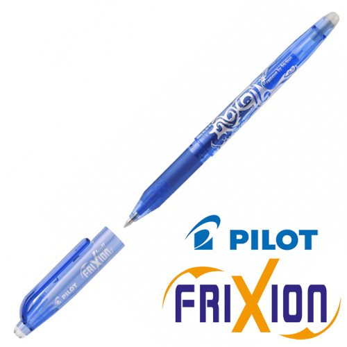 Fine Erasable Gel Rollerball - Pilot Frixion Ball 'Fine' 0.5mm - (Blue / Bleu)