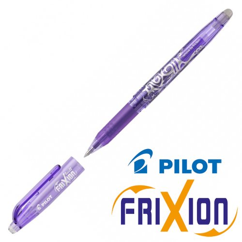 Fine Erasable Gel Rollerball - Pilot Frixion Ball 'Fine' 0.5mm - (Violet)