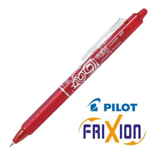 Stylo frixion clicker rouge 0.7