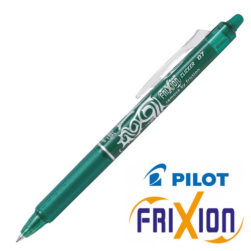 Stylo frixion clicker 0.7 vert