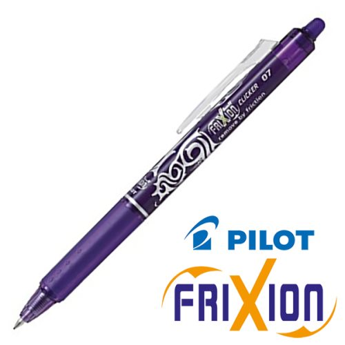 Stylo frixion clicker violet 0.7