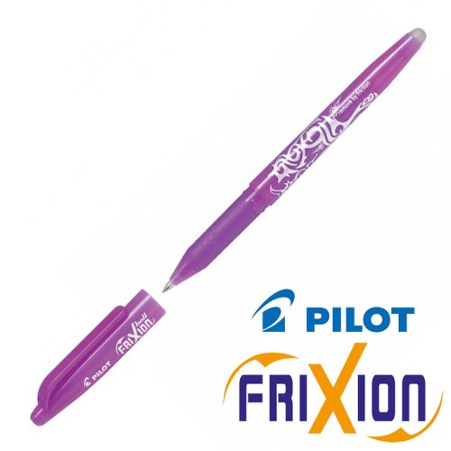 Erasable Gel Rollerball - Pilot Frixion Ball Medium 0.7mm - (Purple/ Mauve)
