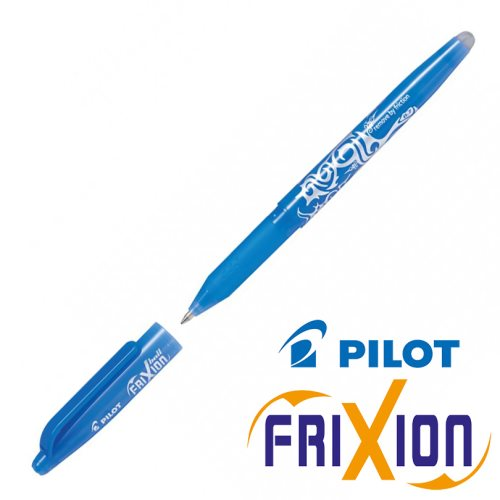 Erasable Gel Rollerball - Pilot Frixion Ball Medium 0.7mm - (Sky Blue)