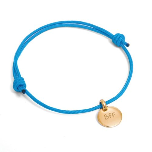 Best firends forever - gold plated bracelet