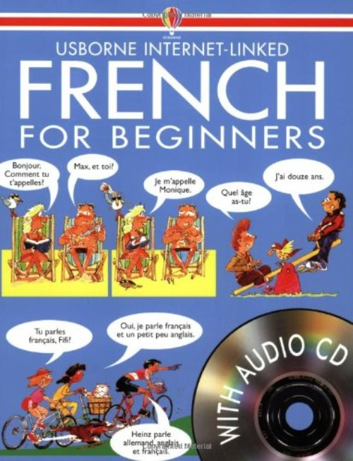 Usborne French for Beginners with CD