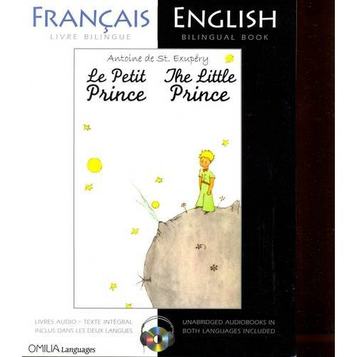 The Little Prince: A French/English Bilingual Reader (Includes audio CD)