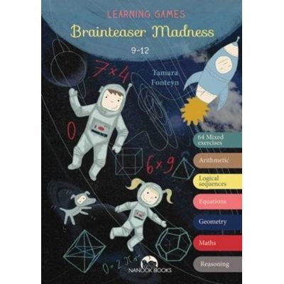 Brainteaser Madness: My First Activities - Primary School