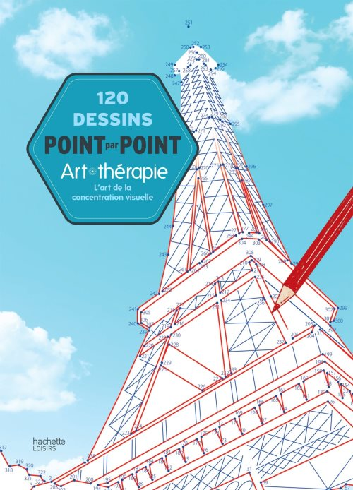 120 dessins point par point : L'art de la concentration visuelle