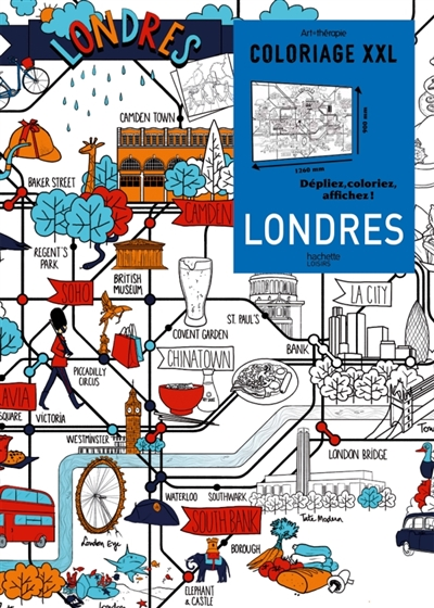 Coloriage xxl londres