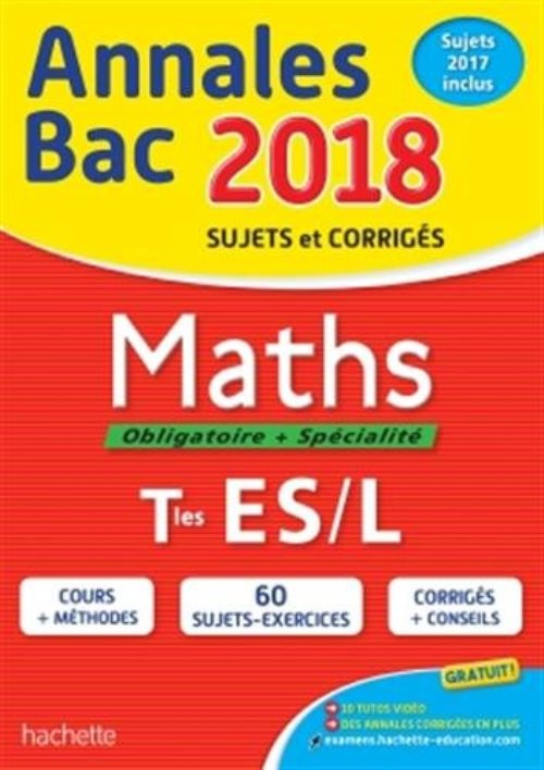 Annales Bac - Maths Term ES