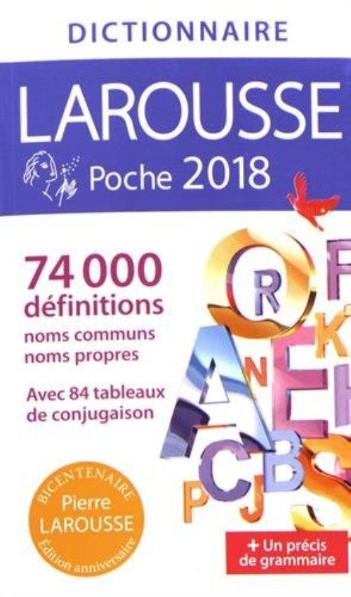 Dictionnaire larousse de poche 2018 librairie la page - Dictionnaire de cuisine larousse ...