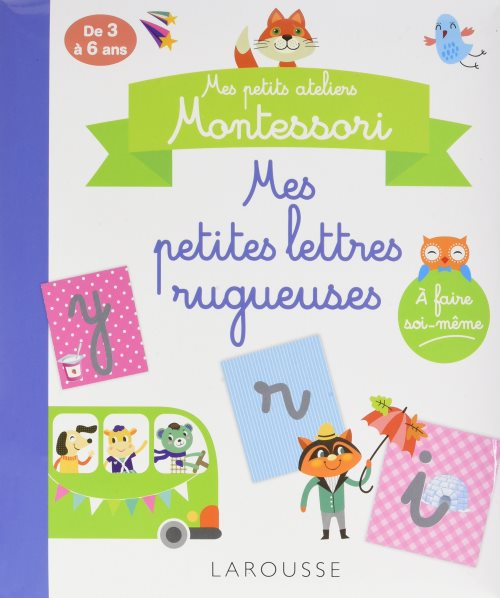Mes petites lettres rugueuses