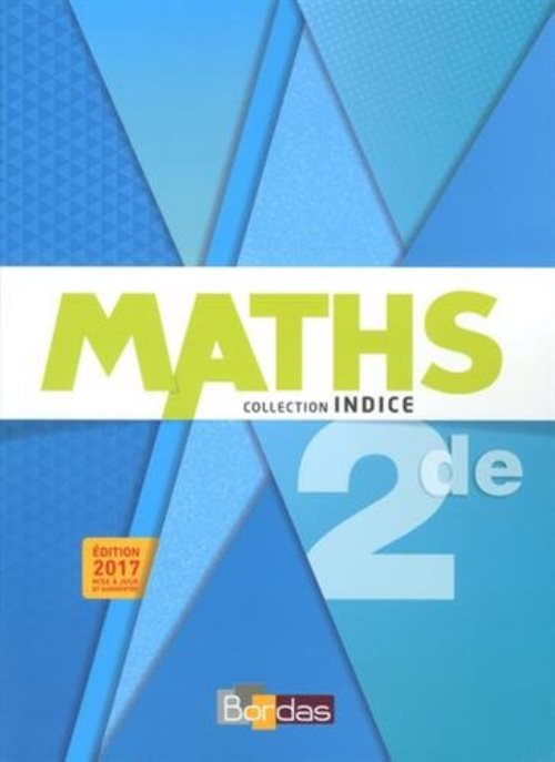 Indice Maths 2de