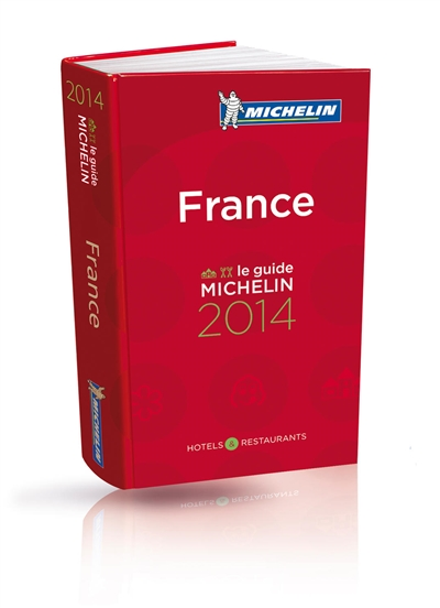 France, le guide Michelin 2014