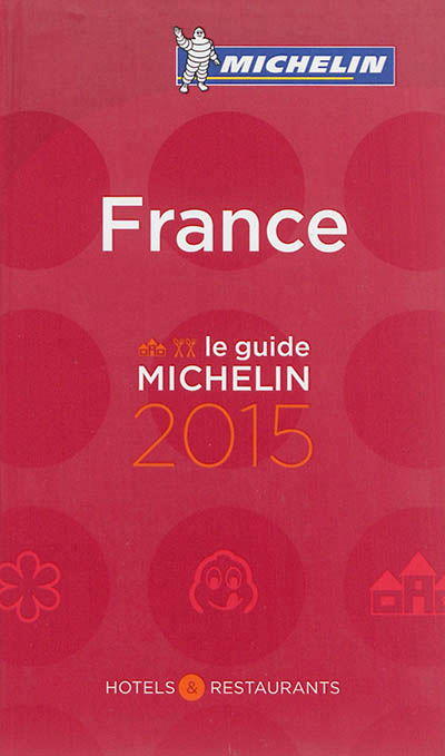 France, le guide Michelin 2015