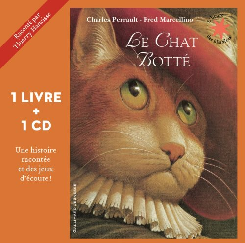 Le chat botté - Livre + CD
